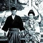 Yûzô Kayama and Yumiko Kokonoe in Sugata Sanshirô (1965)
