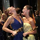 Brie Larson and Alicia Vikander at an event for The Oscars (2016)
