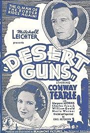 Desert Guns Poster
