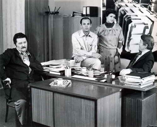 Zvonko Lepetic, Lela Margitic, and Mustafa Nadarevic in Punom parom (1978)