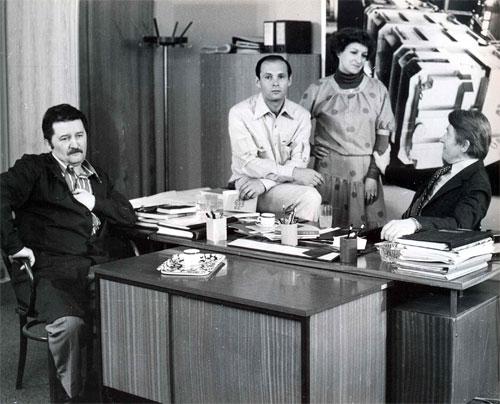 Zvonko Lepetic, Lela Margitic, and Mustafa Nadarevic in Punom parom (1978)