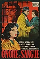 Onore e sangue (1957) Poster