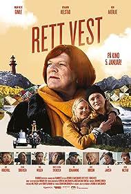 Ingar Helge Gimle, Benjamin Helstad, and Iben Akerlie in Rett Vest (2017)