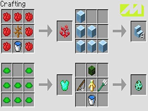 Clip new minecraft 1.13 crafting recipes!