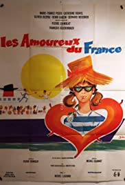 The Lovers of the France Poster