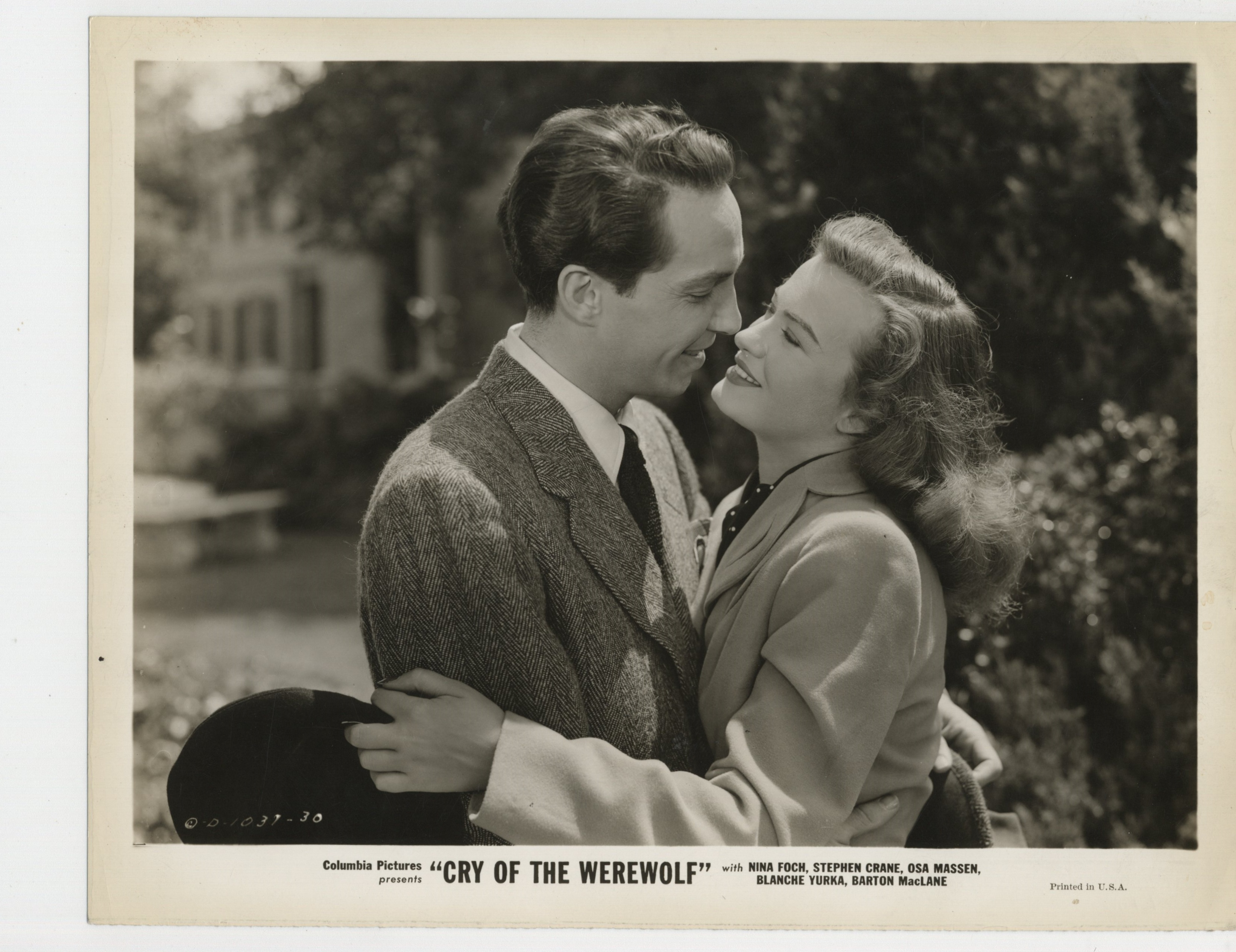Stephen Crane and Osa Massen in Cry of the Werewolf (1944)