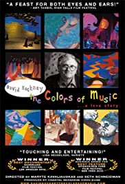 David Hockney: The Colors of Music Poster