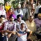 Vijay Tandon, Nirmal Rishi, Gurpreet Ghuggi, Malkeet Rauni, Seema Kaushal, Pukhraj Bhalla, Nimrat Khaira, and Tarsem Jassar in Afsar (2018)