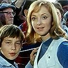 Yutta D'Arcy and Mehdi El Glaoui in Sébastien et la Mary-Morgane (1970)