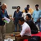 Arjun Sarja, Arun Vaidyanathan, and Vaibhav Reddy in Nibunan (2017)