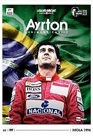 Ayrton Indimenticabile Poster