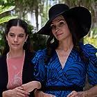 Famke Janssen and Ella Bleu Travolta in The Poison Rose (2019)