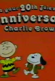 It's Your 20th Television Anniversary, Charlie Brown Poster