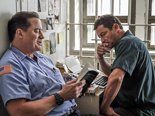 Brendan Fraser and Dominic West in The Affair (2014)