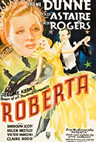 Fred Astaire, Ginger Rogers, and Irene Dunne in Roberta (1935)