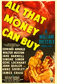 James Craig, Anne Shirley, and Simone Simon in All That Money Can Buy (1941)
