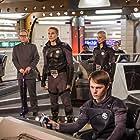 Nathaniel Freeman, Dallas Malloy, Bill Mumy, Sara Maraffino, Ethan McDowell, and Bryan McClure in Space Command (2020)