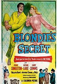 Blondie's Secret Poster