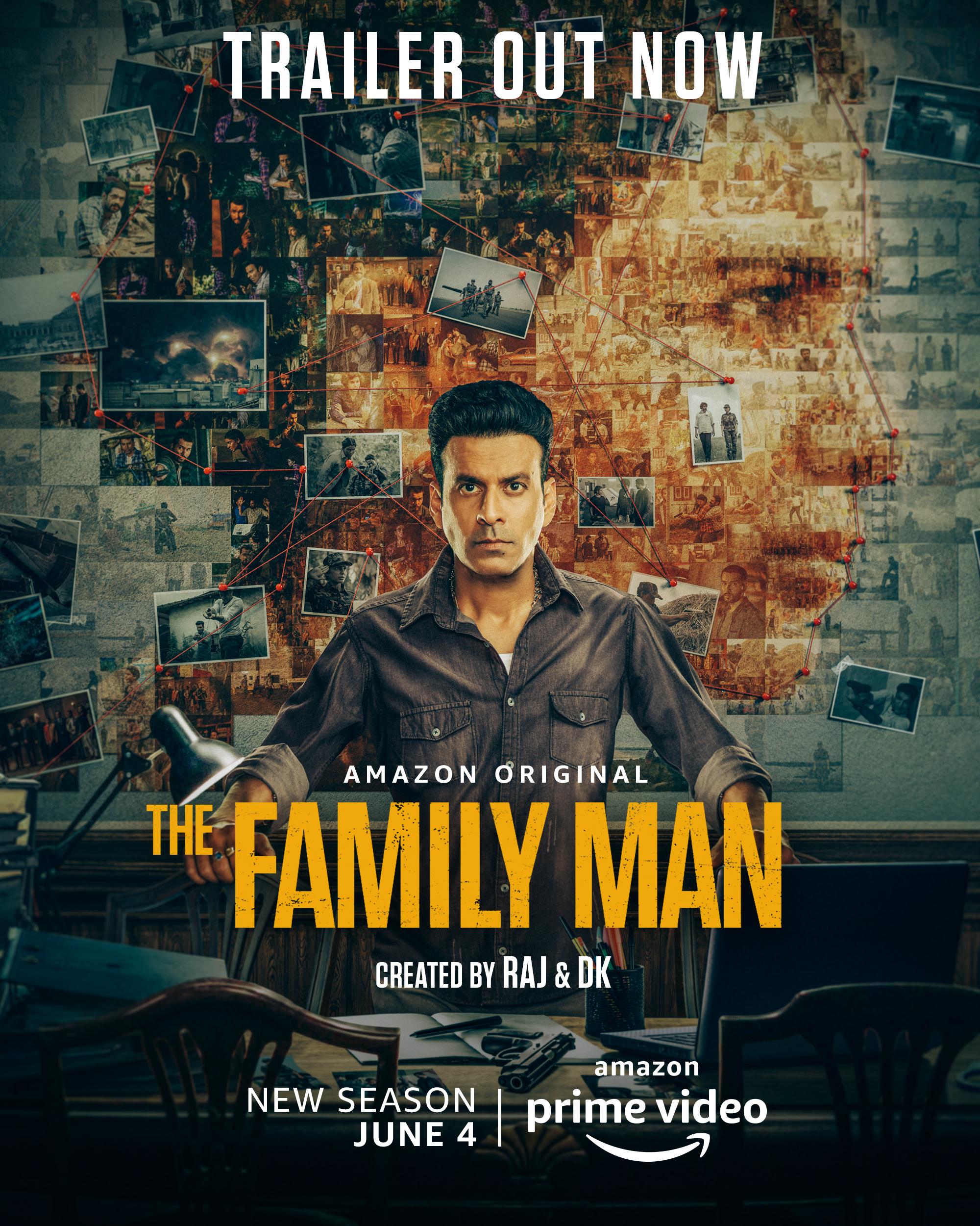 The Family Man 2021 Hindi Season 02 Complete 480p Web-DL 1.2GB
