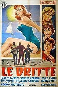 Sandra Mondaini, Bice Valori, and Monica Vitti in Le dritte (1958)