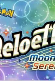 Meloetta's Moonlight Serenade Poster