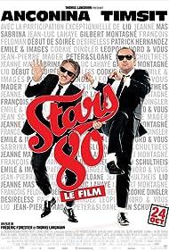 Richard Anconina and Patrick Timsit in Stars 80 (2012)