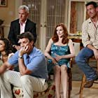 Marcia Cross, James Denton, Nathan Fillion, Eva Longoria, and John Slattery in Desperate Housewives (2004)
