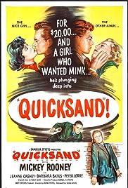 Quicksand(1950) Poster - Movie Forum, Cast, Reviews