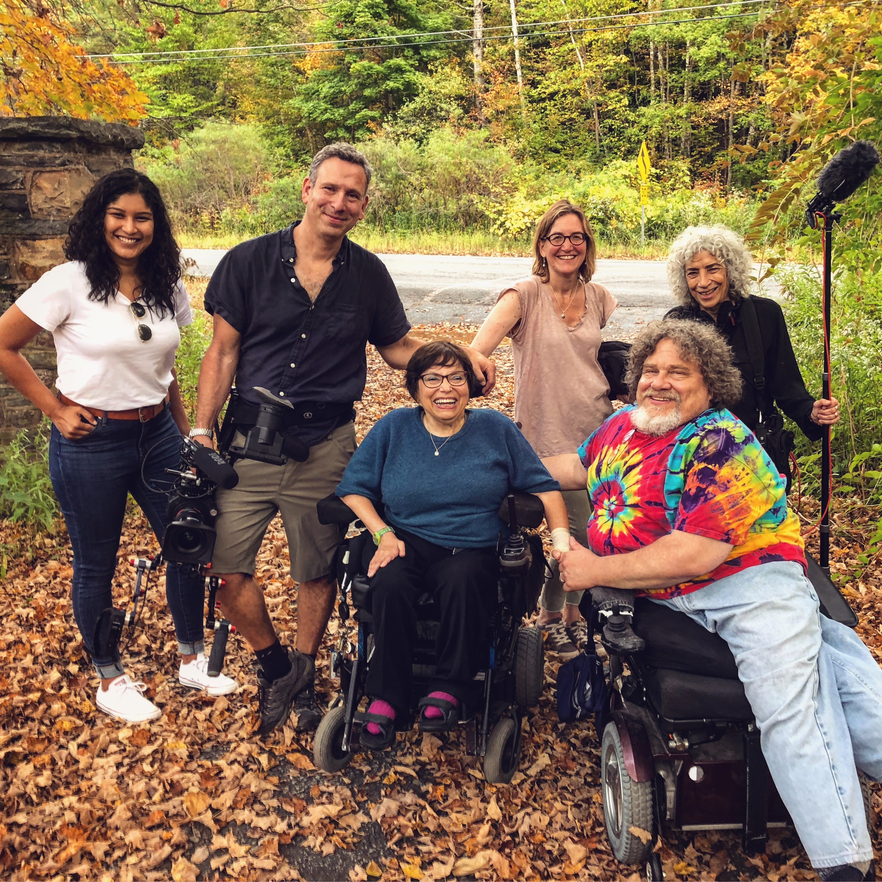 Judy Karp, Judy Kain, James Lebrecht, Nicole Newnham, Justin Schein, and Judith Heumann in Crip Camp (2020)