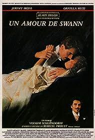 Jeremy Irons, Alain Delon, and Ornella Muti in Un amour de Swann (1984)