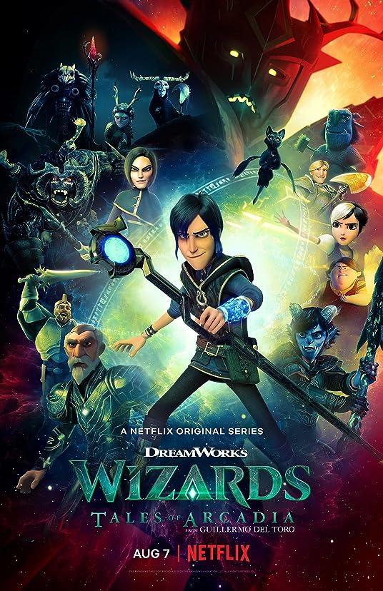 Wizards: Tales of Arcadia (2021) Season 2 Hindi Dubbed (Netflix)