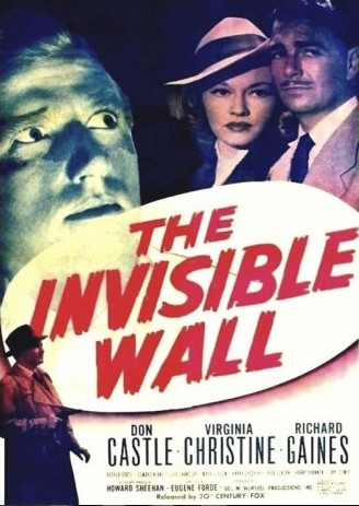 Don Castle, Virginia Christine, and Richard Gaines in The Invisible Wall (1947)