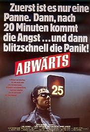 Abwärts Poster