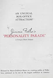 Personality Parade Poster