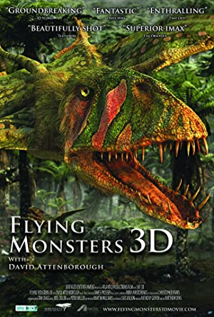 Where to stream Flying Monsters 3D with David Attenborough
