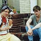 Brian Vincent with William Mcnamara in 'The Deli'.