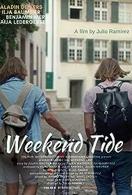 Benjamin Merz, Saladin Dellers, Kaija Ledergerber, and Ilja Baumeier in Weekend Tide (2018)