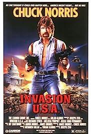 Invasion U.S.A.(1985) Poster - Movie Forum, Cast, Reviews