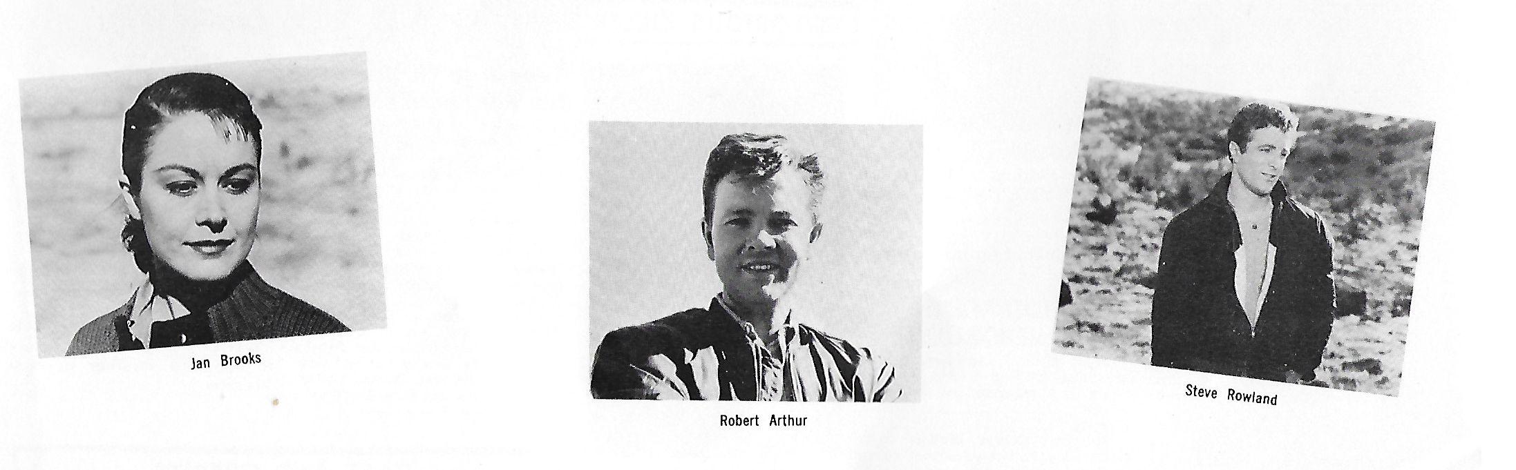 Robert Arthur, Jan Brooks, and Steve Rowland in Wild Youth (1960)