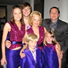 """Title: """"The New Partridge Family""""  Pilot Episode   Hannah Leigh as Tracy with French Stewart and Emma Stone   2005"""