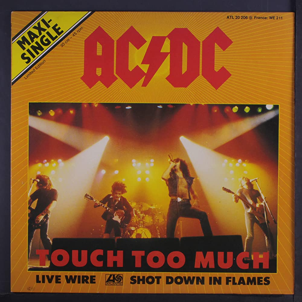 Ac Dc Touch Too Much 1979