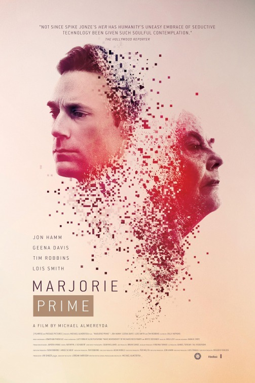 Jon Hamm and Lois Smith in Marjorie Prime (2017)