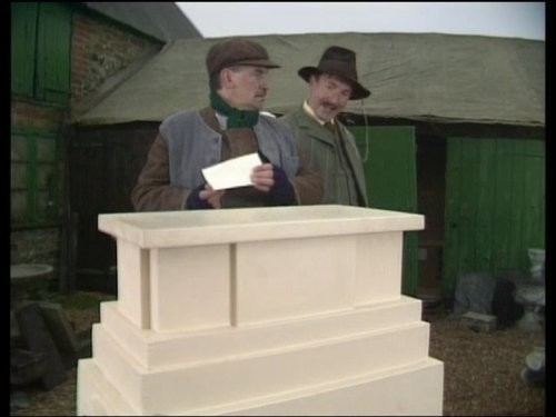 Nigel Hawthorne and Jon Croft in Mapp & Lucia (1985)