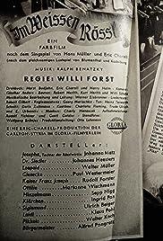 Im Weissen Rössl Poster