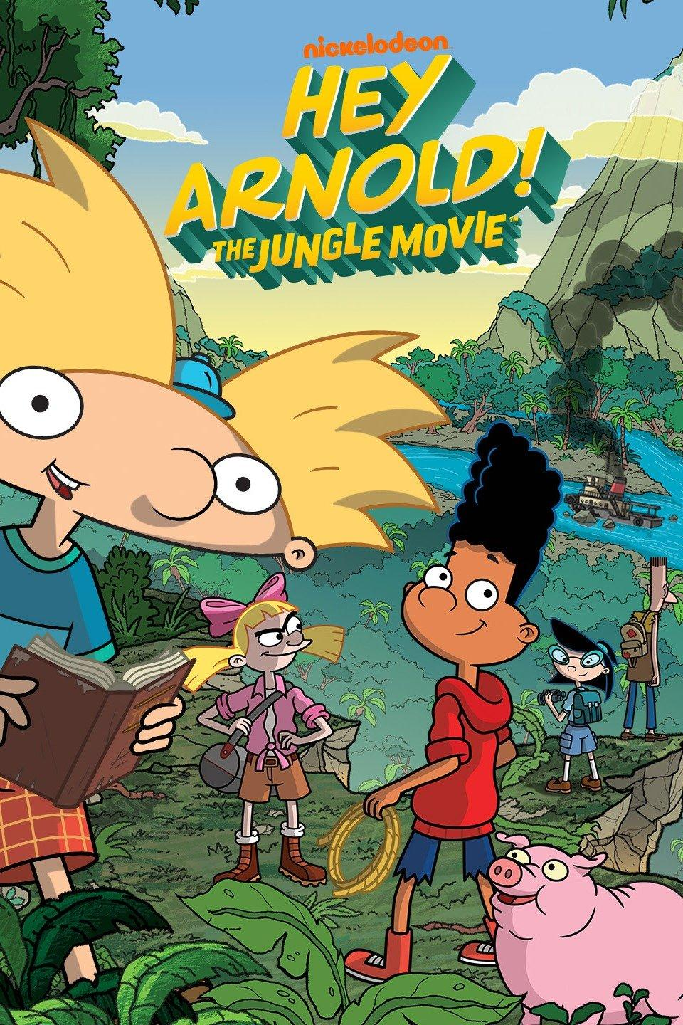 Hey Arnold: The Jungle Movie (2017) HDTV 480p, 720p & 1080p