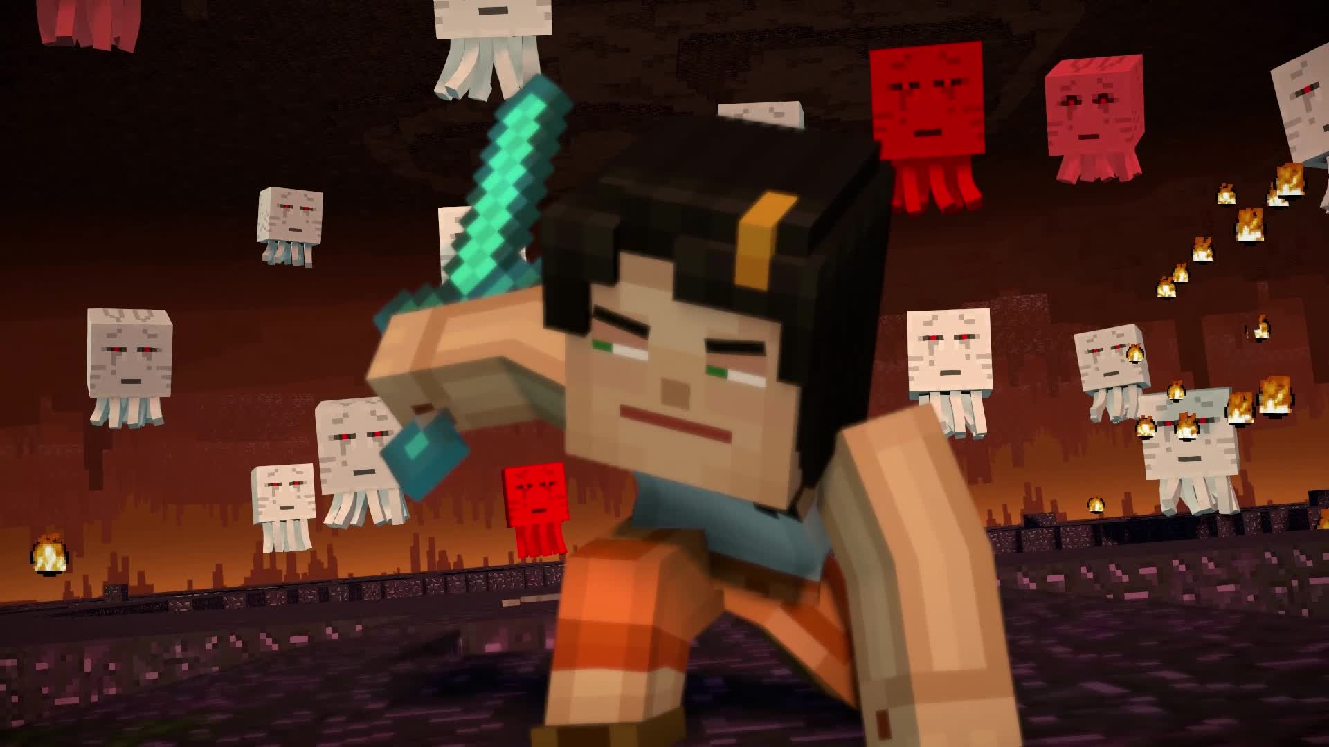 minecraft story mode lukas