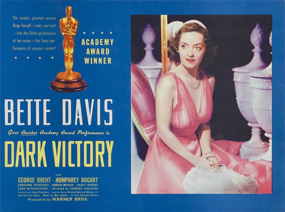 Image result for Dark Victory 1939 poster