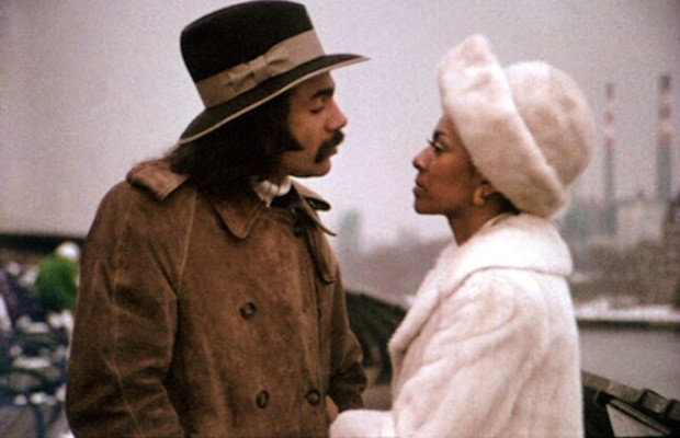 Sheila Frazier and Ron O'Neal in Super Fly (1972)