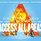 Georgie Henley, Ella Purnell, Jordan Stephens, and Edward Bluemel in Access All Areas (2017)