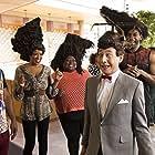 Paul Reubens, Dionne Gipson, Sonya Eddy, Darryl Stephens, and Anthony Alabi in Pee-wee's Big Holiday (2016)